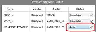 Wireless transmitter firmware update failed. Just run again to fix.