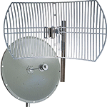 Highly directional wireless antenna for industrial wireless applications