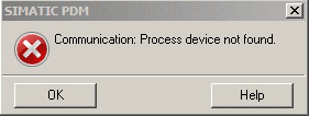 The dreaded Communications Error box... showed up FOUR TIMES!
