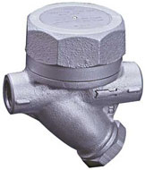 Typical thermodynamic disc steam trap