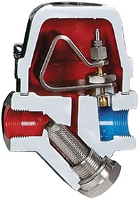 Delta Element steam trap
