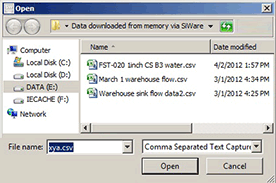 Siemens SIWARE terminal files downloaded