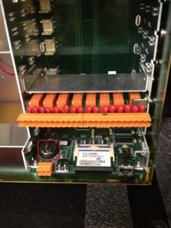 Battery in a MultiTrend (SX)