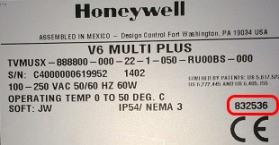 X Series Internal Serial Number